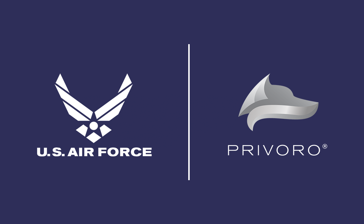 Air Force and Privoro logos